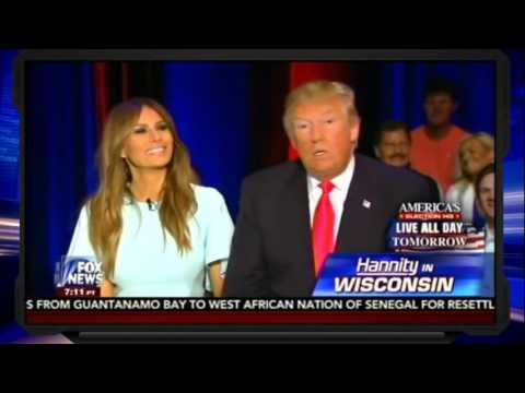 Hannity 4/4/16   Trump Interview, Donald Trump The Night Before The Wisconsin Primary
