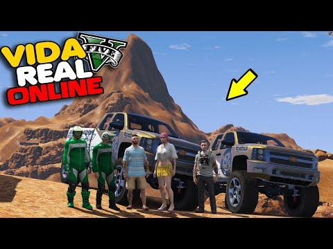 GTA V : VIDA REAL - ANDEI DE CAMINHONETE NAS DUNA DE DUBAI !!  #327
