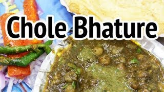 Chole Bhature (छोले भटूरे) - Mouthwatering Chickpeas And Deep Fried Bread At Sita Ram Diwan Chand