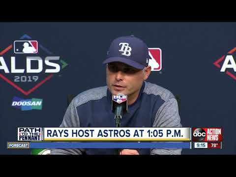 Charlie Morton, Rays try to prevent the Astros from sweeping ALDS