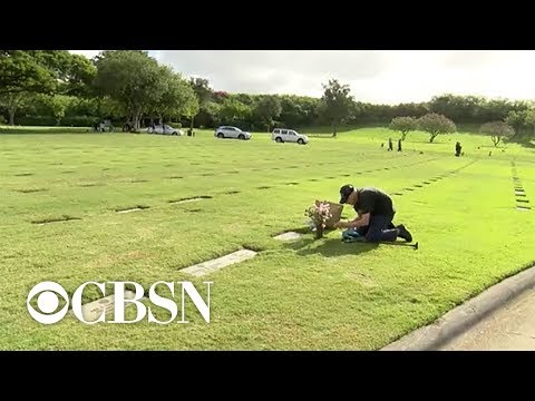 Casey Carter - Man visits wife's grave every day