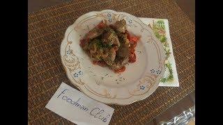 Куриная печень с луком и сладким перцем: рецепт от Foodman.club