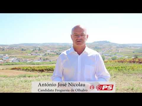 António José Nicolau | Candidato à Freguesia de Olhalvo