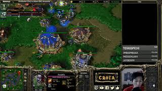 Moon (NE) vs OrcWorker (Orc) - WarCraft 3 - WC####