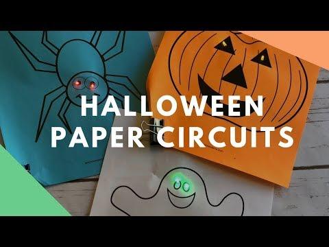 Halloween Paper Circuits