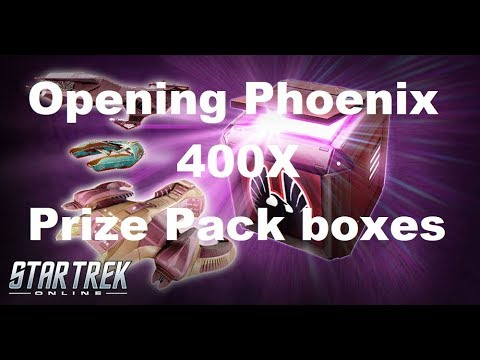 STO: Opening 400 Phoenix Prize Pack Boxes during the Upgrade event!