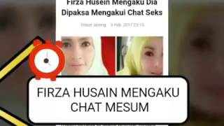 HEBOH! FIRZA HUSEIN MENGAKUI CHAT MESUM
