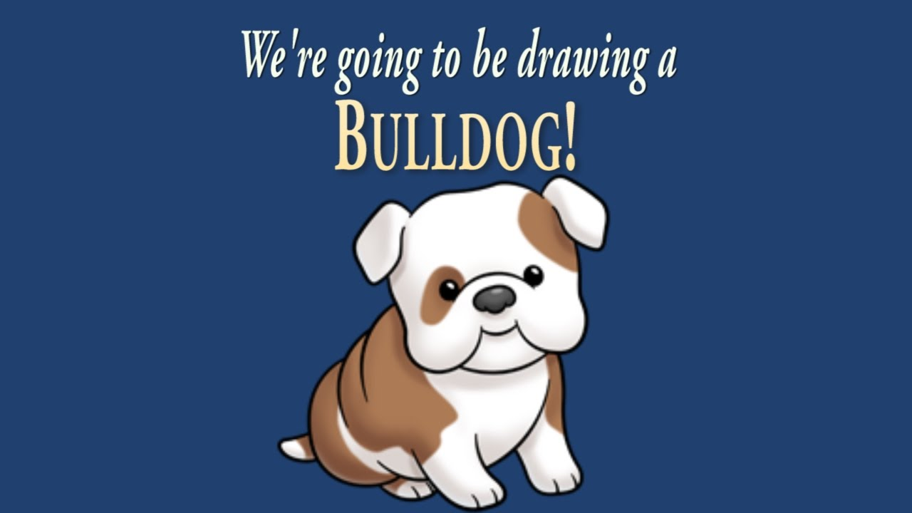 how to draw a cute little bulldog | easy drawing | artninja - youtube