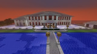 Minecraft Scarface Mansion + Download
