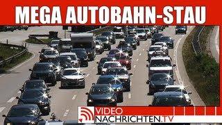 100 Kilometer Rekord-Stau auf der Autobahn im Norden | Nachrichten | VideonachrichtenTV