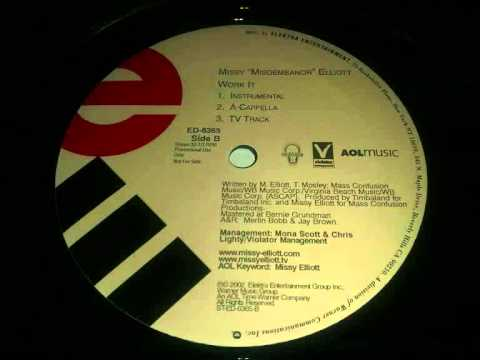 Missy Elliott - Work It (Instrumental)