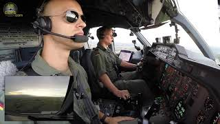 GOT TO LOVE IT!!! PERFECT Airbus A310  Landing by Commander, CLASSIC YOKE  [AirClips]
