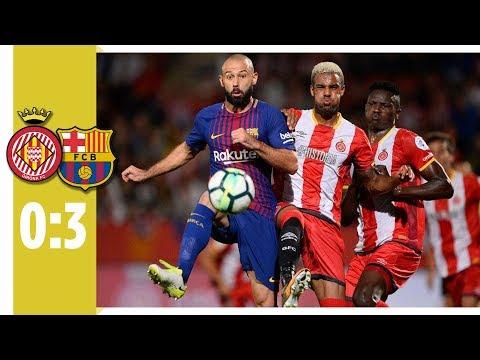 FC Girona - FC Barcelona - 0:3 / Barca mit 6. Sieg im 6. Spiel / Messi ohne Tor