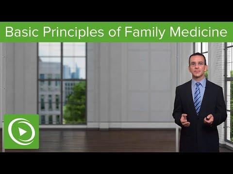 Basic Principles – Family Medicine | Lecturio
