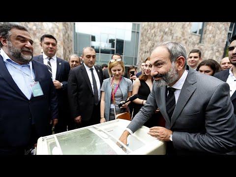 Пашинян открыл новую школу в Гаваре