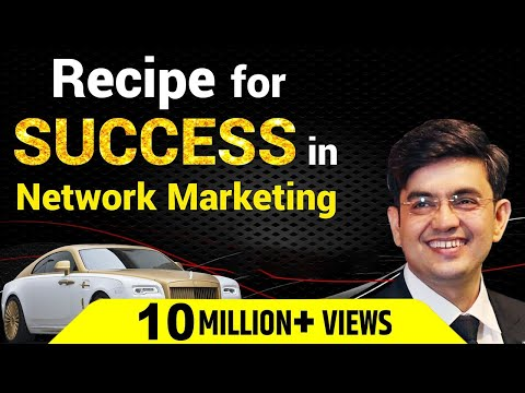 Recipe For Success In Network Marketing | Network Marketing Tips | Sonu Sharma | Call : 7678481813