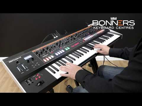 Roland Jupiter X Piano Organ Vocoder Brass Strings and More! | Bonners Music