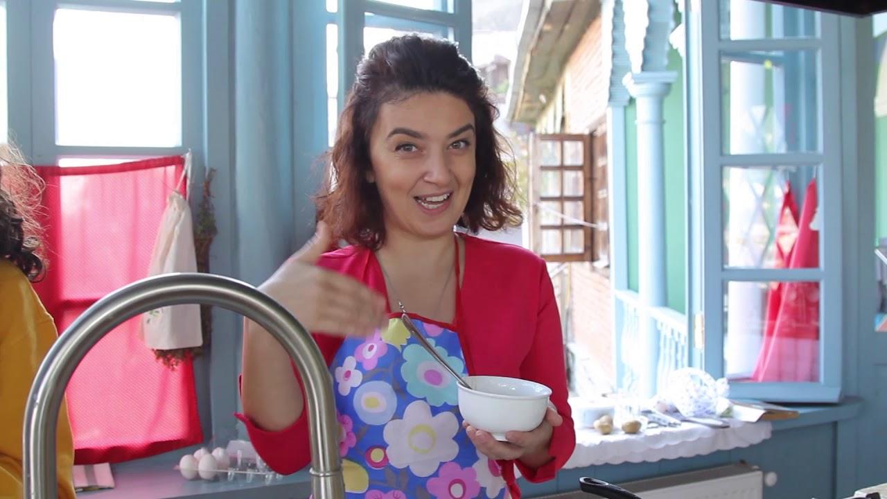 სტუმრად ლიზას და თიკას სამზარეულოში | ნუცა კოპალიანი