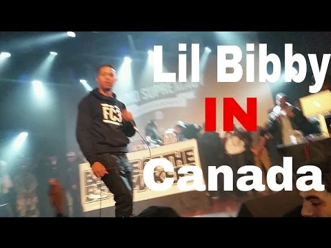 "Lil Bibby - ""Free Crack 3 Tour"" (FULL Live performance In Canada ) Dec 19,2015"