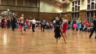 Same-sex Rumba Fun Dance Final Purdue Ballroom Competition