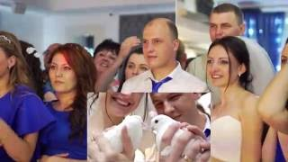 Реакция молодожен и гостей во время показа SDE видеоклипа