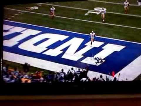 Joseph Addai touchdown pass