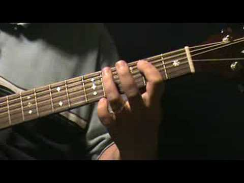 hurt so good acoustic lesson example