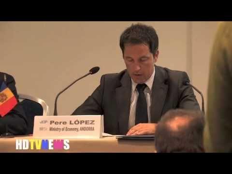 GOVERNMENT & TOURISM - ANDORRA ministry of Economy: Pere LOPEZ & Taleb RIFAI UNWTO [UN]