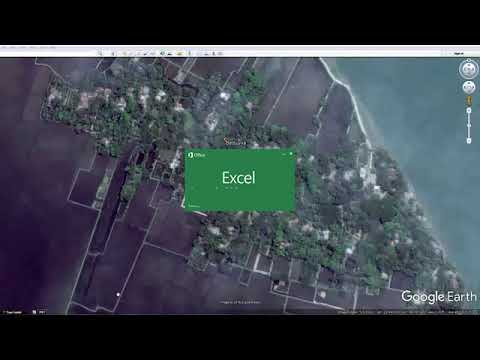 Arc GIS Basic full Couse (Bengali) -Lecture 3 : Satelite image projection and digitizing by Mim