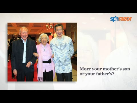 Lee Kuan Yew's relationship advice (Prime Minister Lee Hsien Loong Pt 2)