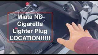 MX5 encendedor de cigarrillos cigarro PLUG /& Socket 12V Genuine Mazda MX-5 Mk2 NB 1998 /> 00