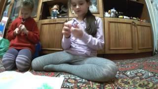 Урок по плетению браслетов из резинок #1 | Двойной браслет