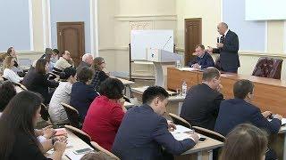 Встреча ректора КФУ с трудовым коллективом ИПИО КФУ