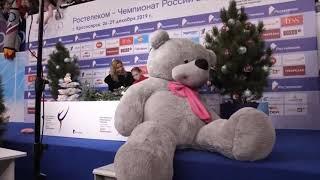 Алина Загитова и Этери Тутберидзе
