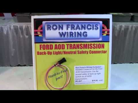 ford aod transmission connector from ron francis wiring id12896 rh youtube com 1999 Ford F53 Wiring-Diagram ford aod transmission wiring diagram