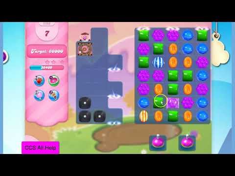 Candy Crush Saga Level 2866 NO BOOSTERS Cookie