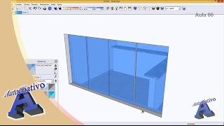 Curso de SketchUp - Aula 06/20 - Módulo Básico - Autocriativo