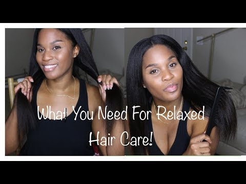 Five Items/Products You NEED For Your Relaxed Hair ~ Withlove_Lisa