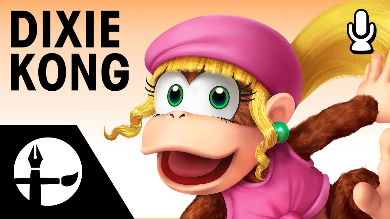 dixie kong smashified time lapse painting commentary
