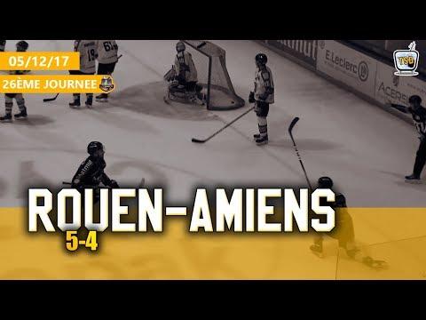 Hockey : Rouen - Amiens Ligue Magnus 2017/2018 J26