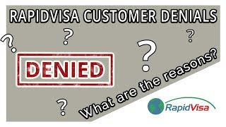 Does RapidVisa Have Denials? What are the Causes?