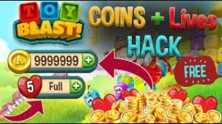 Toy Blast Hack for iOS & Android - FREE COINS[No Root | No JailBreak] Hack/Mod Toy Blast For Android
