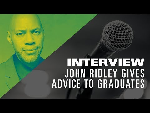 John Ridley gives advice to Graduates of The Los Angeles Film School