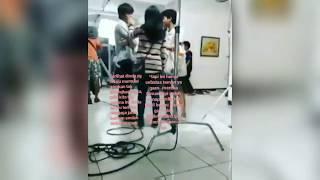 Tertangkap kamera ! Keakraban Arbani Adinda di sela2 Syuting
