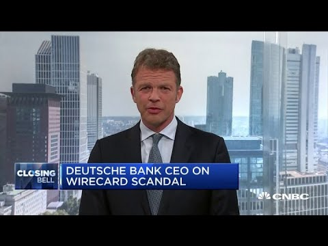 Deutsche Bank CEO on the bank's association with Jeffrey Epstein