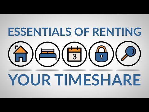 How to Rent Your Timeshare