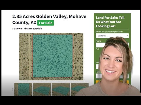 2.35 Acres Land and Property For Sale In Golden Valley Arizona