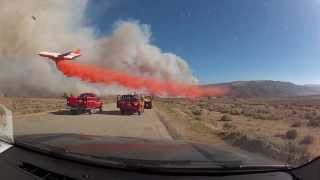 Repeat youtube video Most Amazing Pilot DC-10 Tanker 911 at the Powerhouse Wildfire Fire