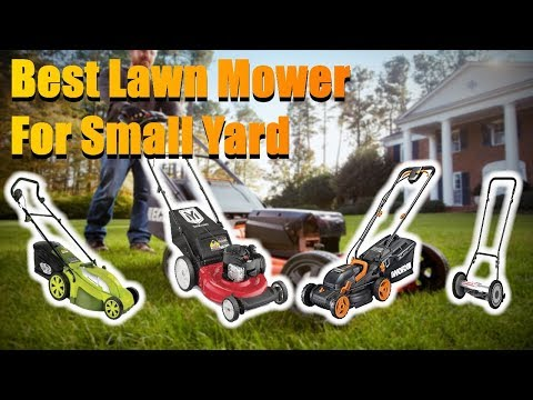 Best Lawn Mower For Small Yard 2020 [RANKED] | Lawn Mower Reviews
