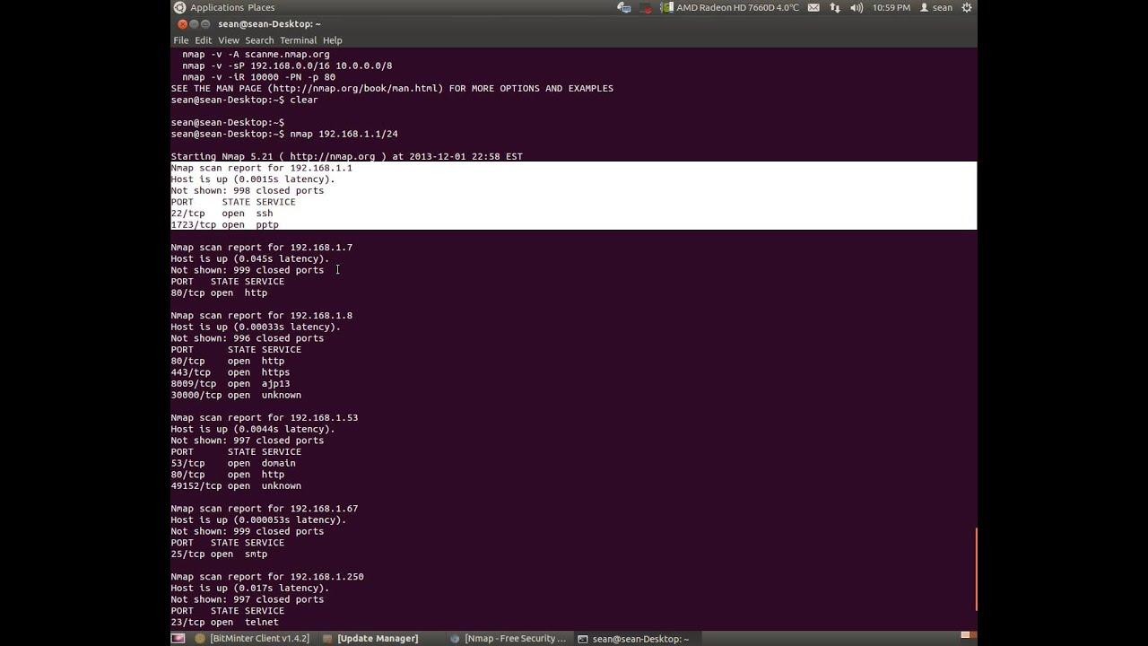 nmap ubuntu